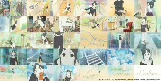 Capturas del videoclip del tema piece de Yui Aragaki