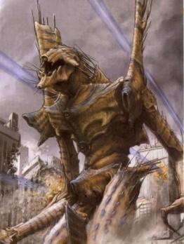 Imagen publicada en la Newtype de Febrero de 2004